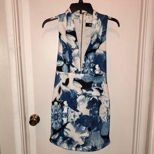 Low cut mini dress, Lulus